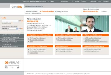 www.genobuy.de - Eine Beispiel-Seite