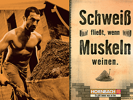 Werbeanzeige Hornbach