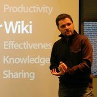 Stewart Mader beim Web Content 2008