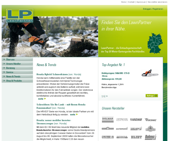 Portal LawnPartner.de