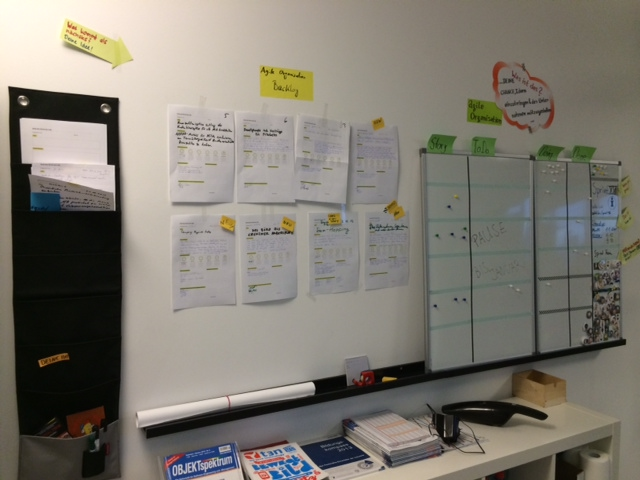Agile Organisation Backlog