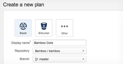 Bamboo 55 Repo verknüpfen