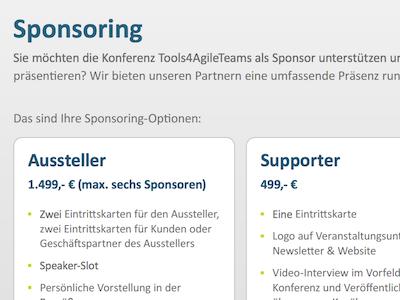 T4AT Sponsoren Artikelbild