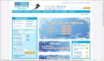 www.statravel.de Homepage