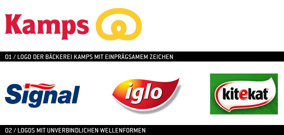 Logos bekannter Marken