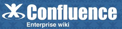 Das Logo von Atlassians Confluence