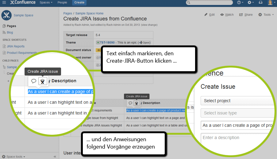 Confluence_54_Create_JIRA_Issue_Button