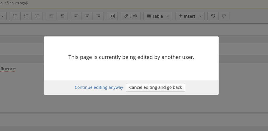 Edit Lock Plugin Confluence 2