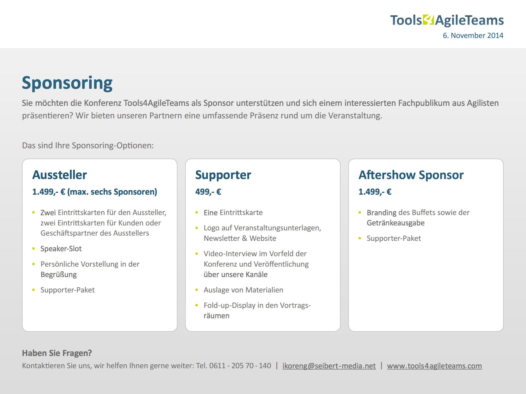 T4AT Sponsoren-Flyer