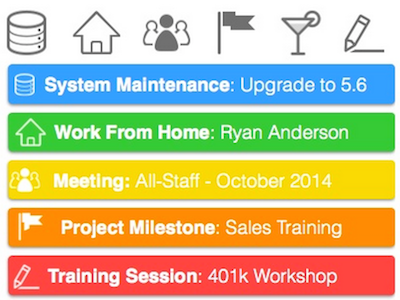 Team Calendars Artikelbild