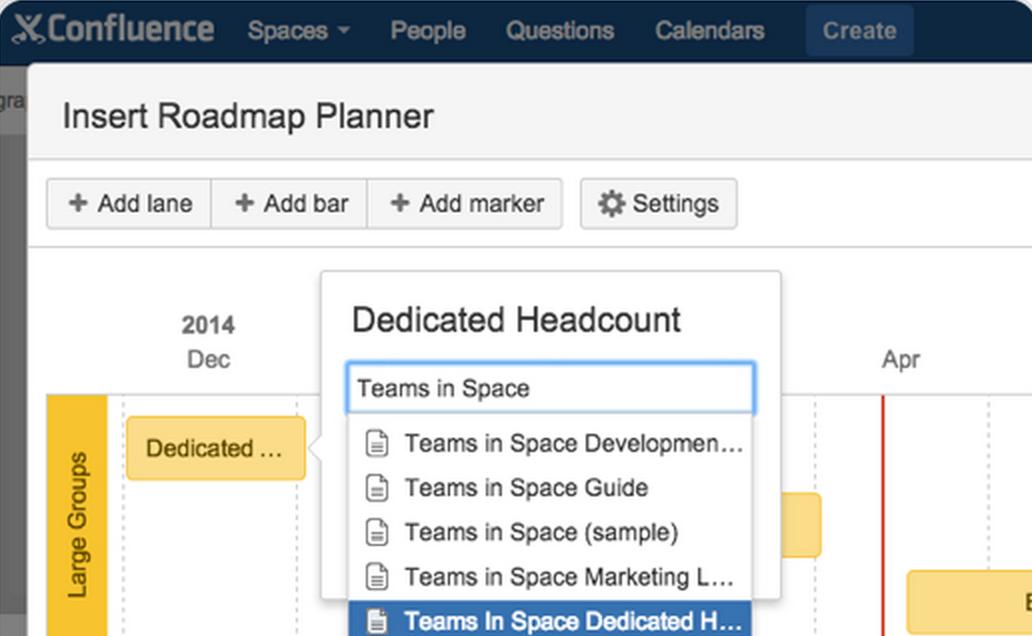 Confluence Roadmap Planner 4