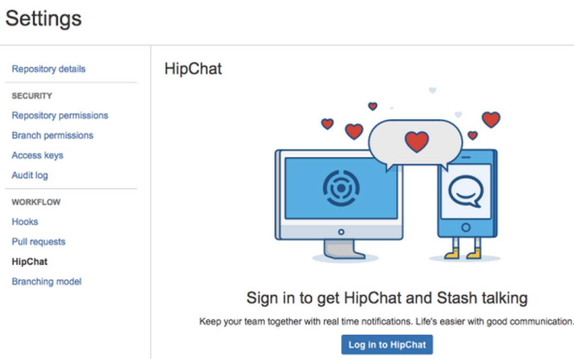 Stash HipChat Integration 3