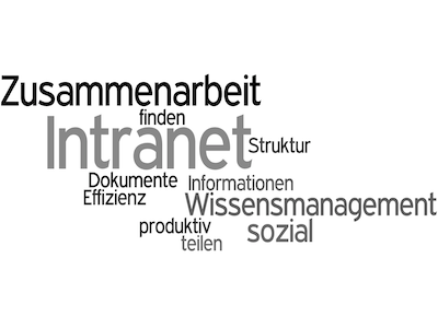 Intranet Wortwolke