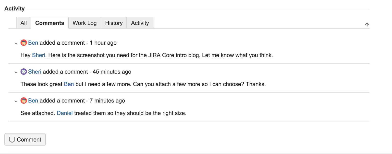 JIRA Core 1