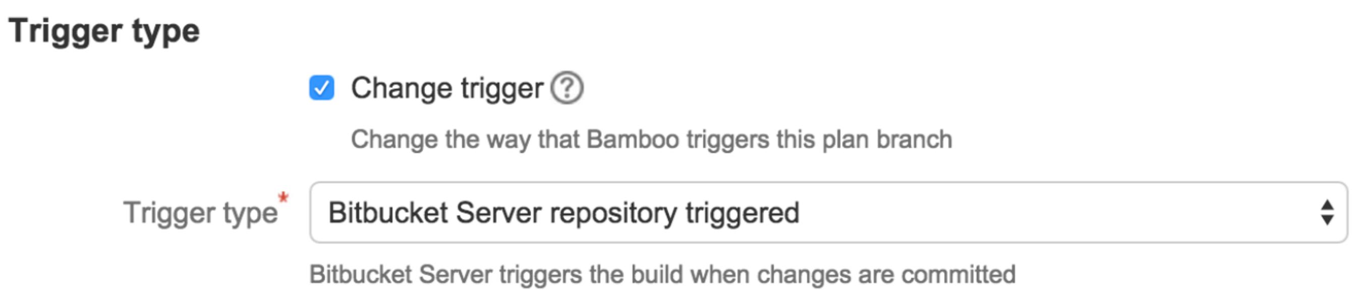 Bitbucket Trigger