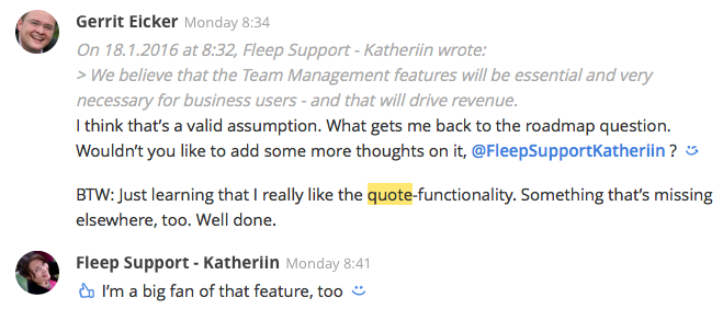 quoting-feature-in-fleep
