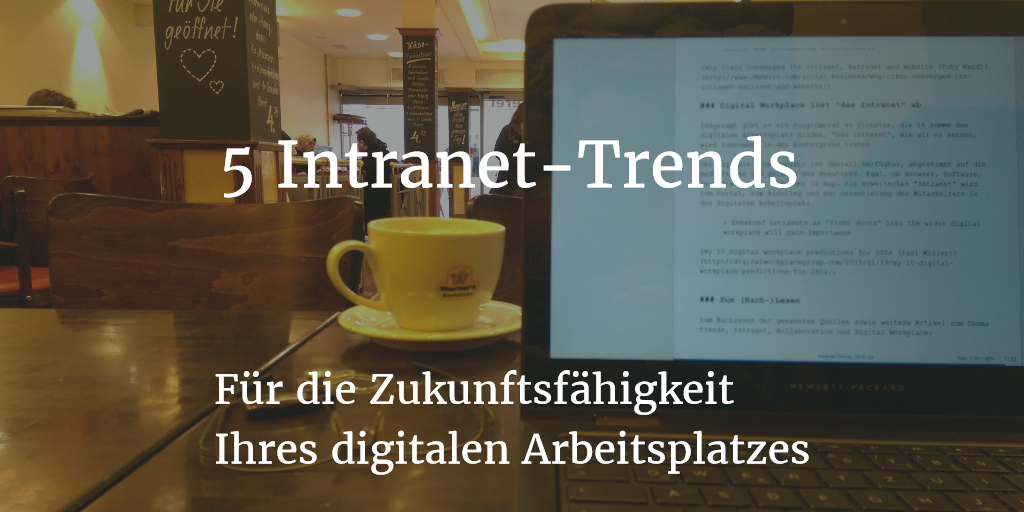 5 Intranet Trends
