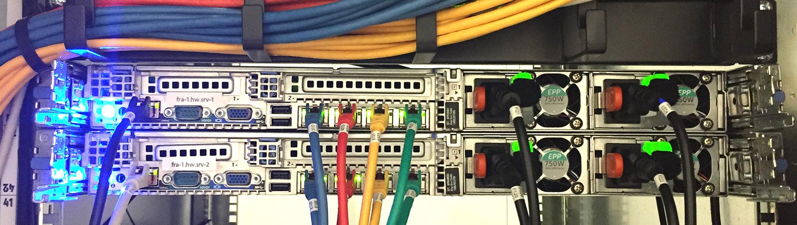 IT Infrastruktur Verkabelung
