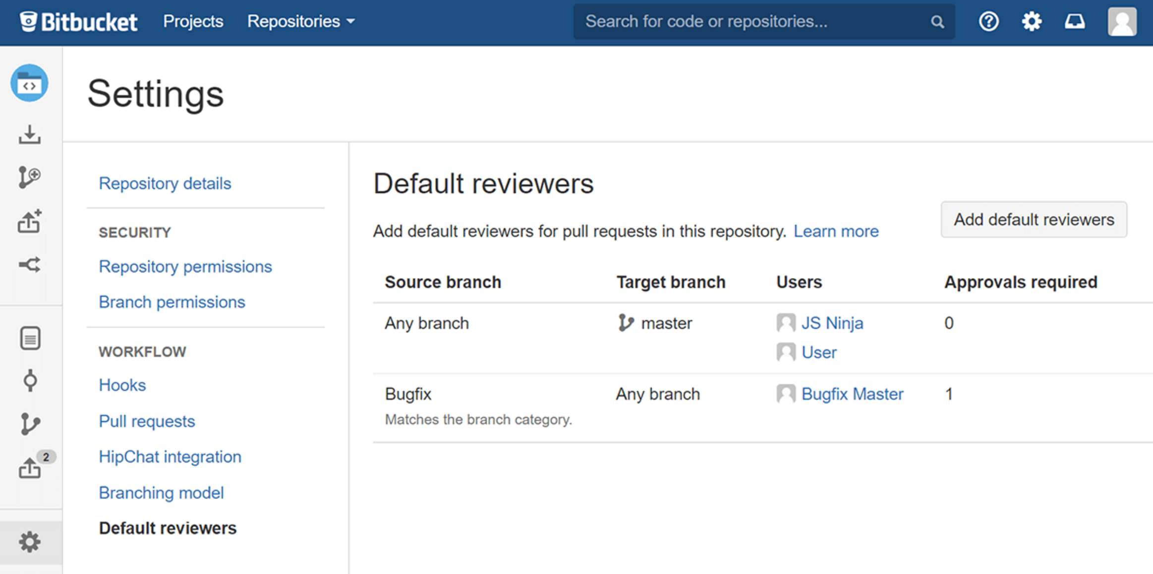 Bitbucket 48 Standard-Reviewer