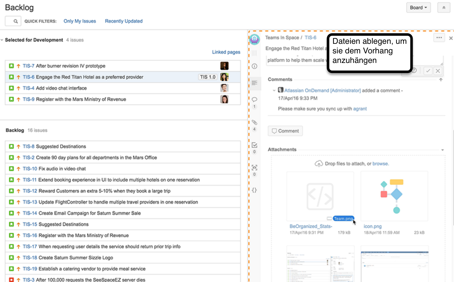 JIRA Software 72 Edit from Boards