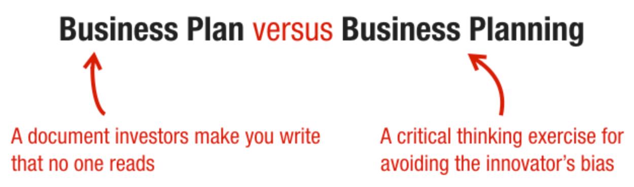 business-plan-vs-business-planning