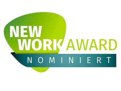 Wir stehen auf der Shortlist des XING New Work Awards 2017! Er zeichnet Unternehmen aus, die traditionelle Konzepte in Frage stellen - Voten Sie für uns!