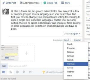Workplace by Facebook (Multiple Languages)