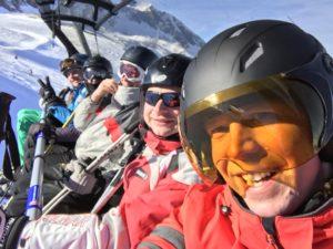 Skilift-Selfie