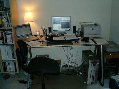 Home-Office Remote-Zusammenarbeit