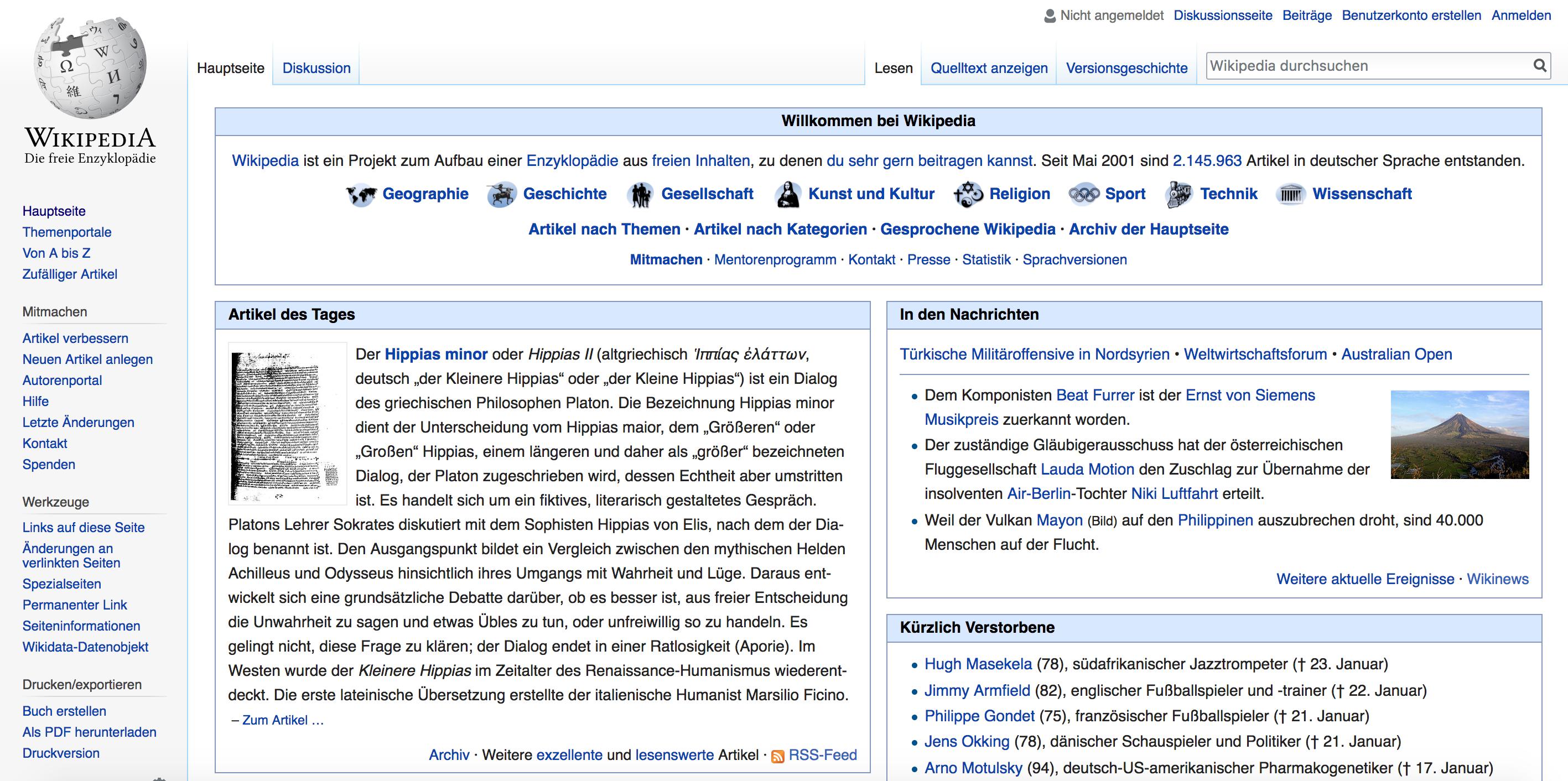 Wikipedia ist kein Corporate Intranet