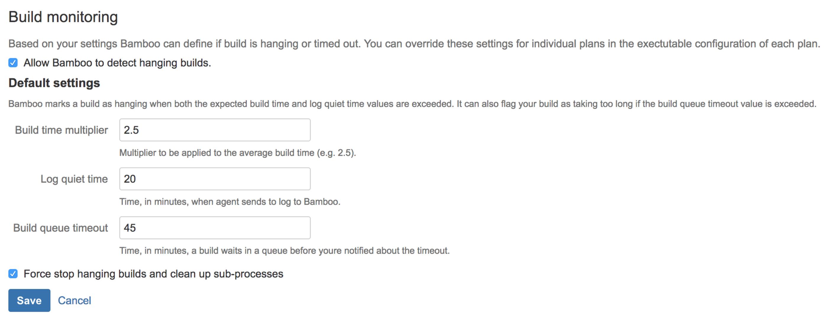 Bamboo 6.4: Hung Build Killer