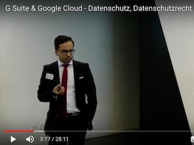 Google Cloud und der Datenschutz