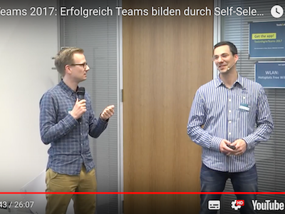 Self-Selection in der Teambildung