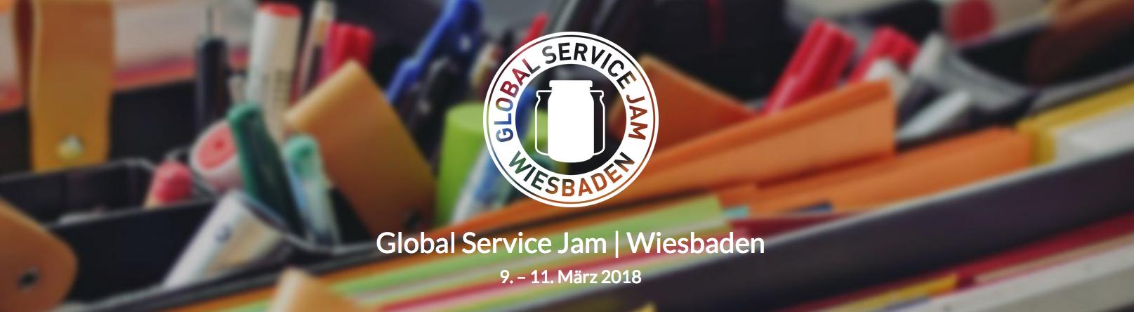 Global Service Jam Wiesbaden 2018