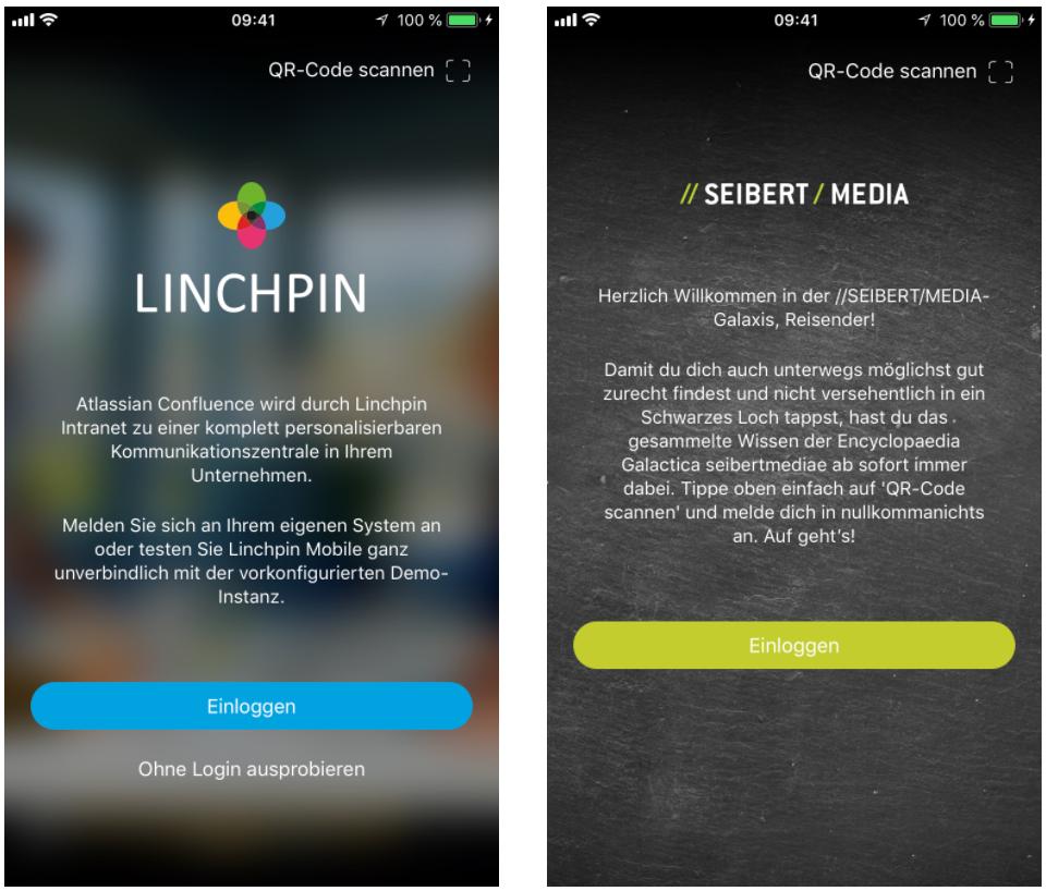 Linchpin Mobile: Branding und Individualisierung