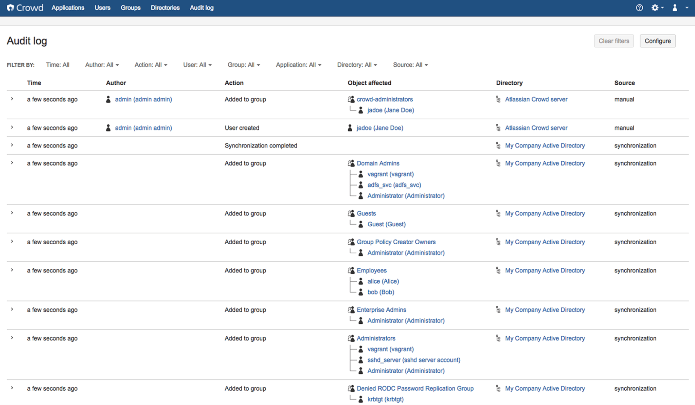 Atlassian Crowd 3.2