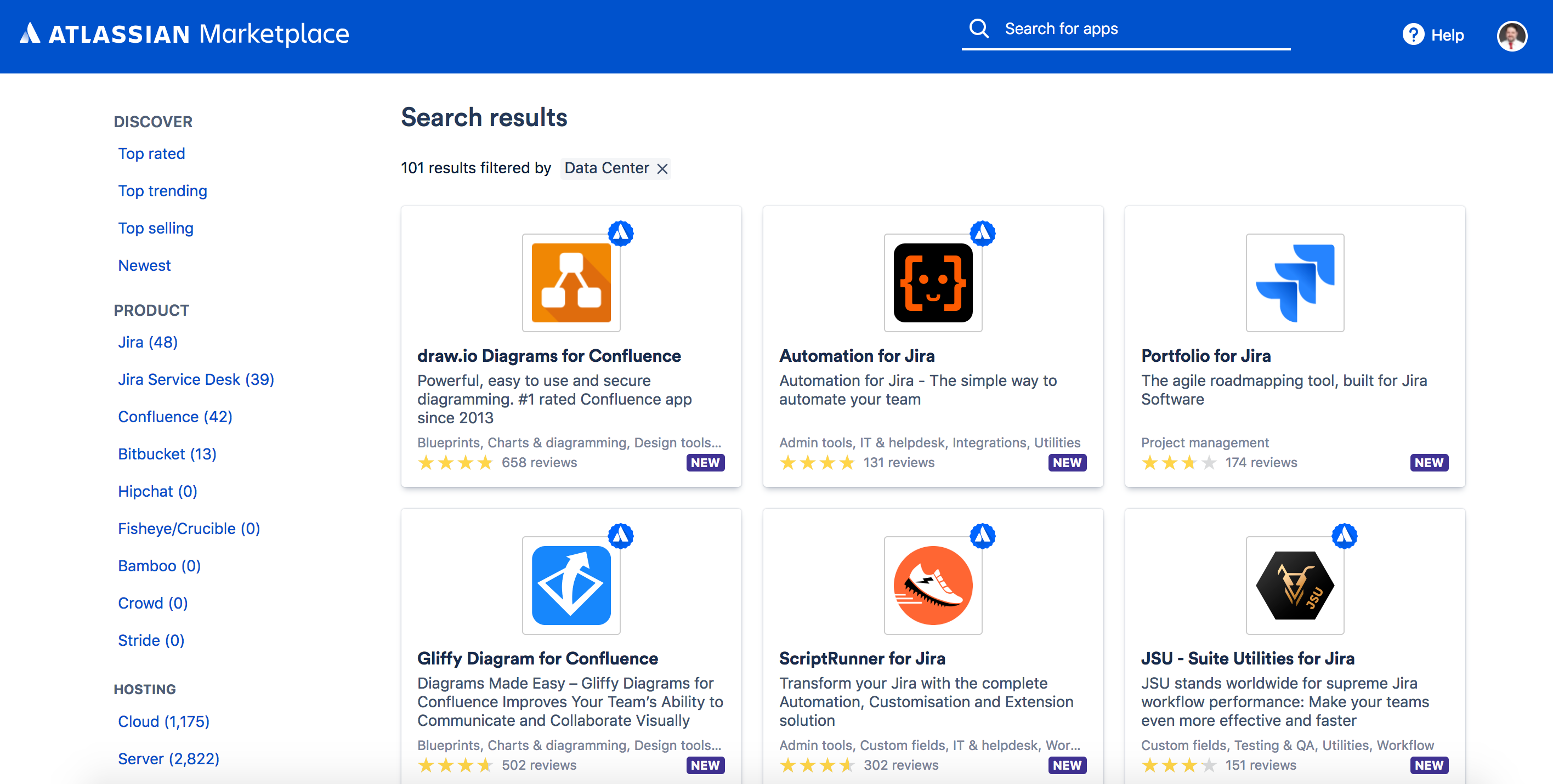 Atlassian Marketplace - Data Center approved