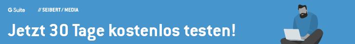 G Suite kostenlos 30 Tage testen