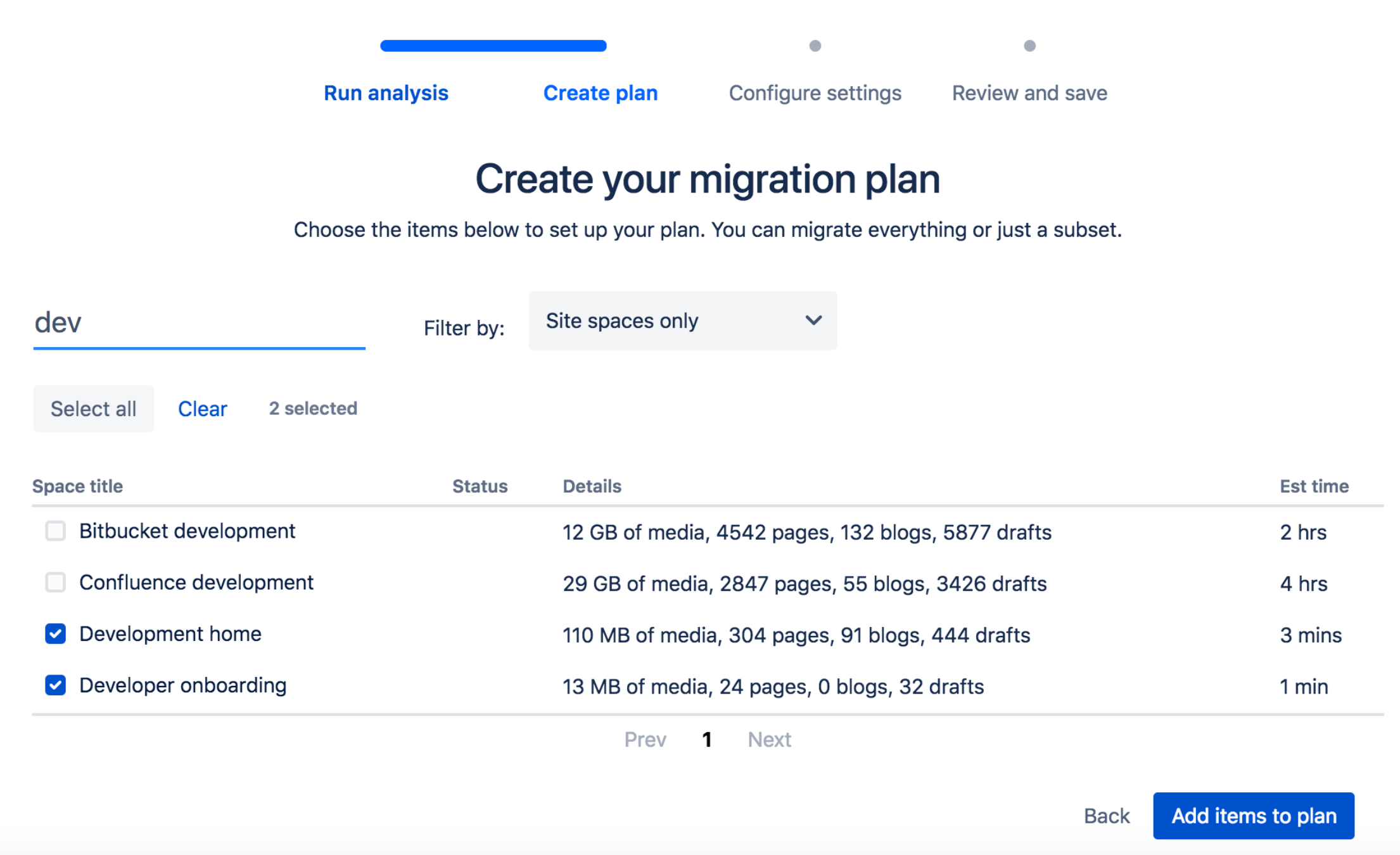 Confluence 6.13 - Cloud-Migration