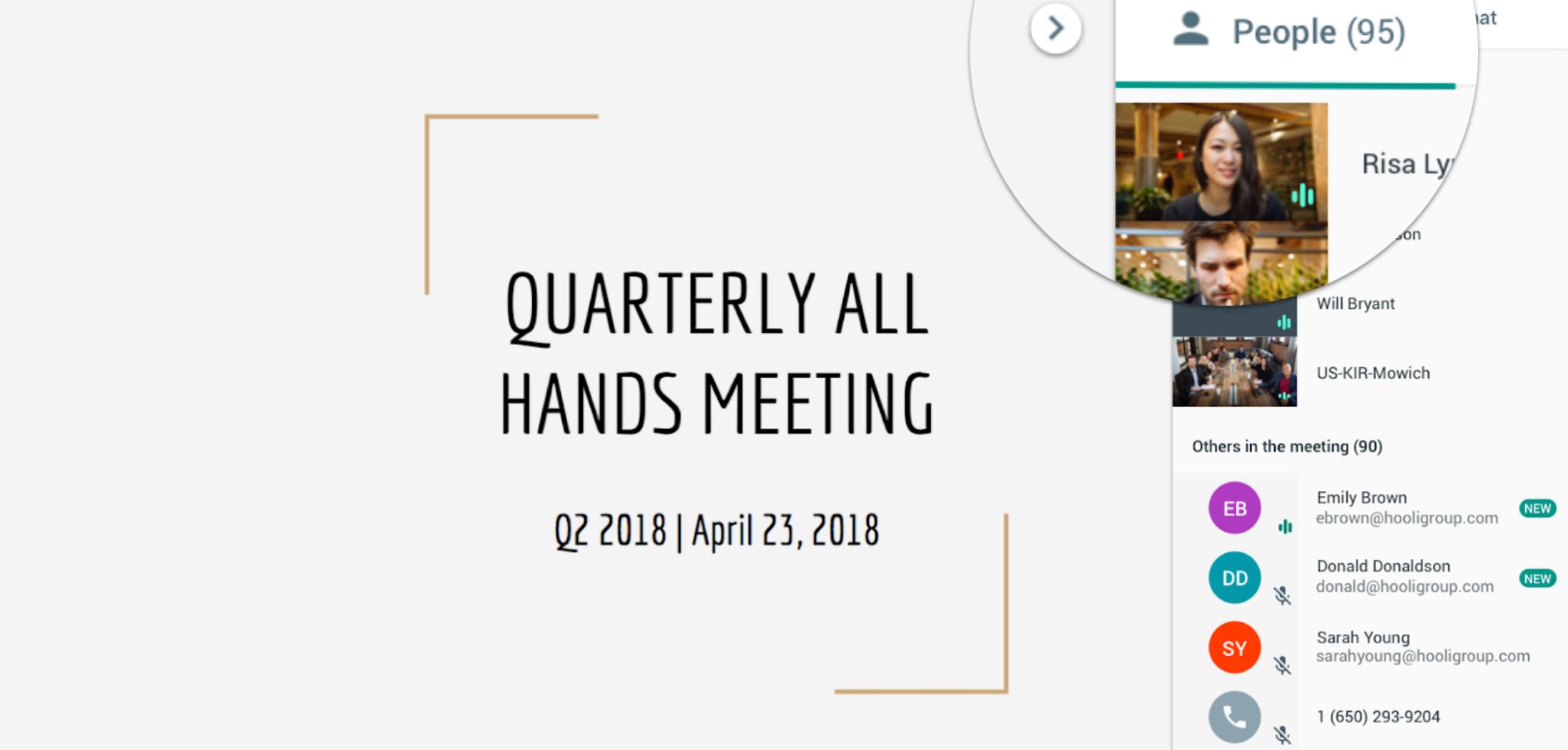 G Suite hangouts Meet