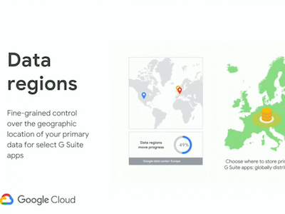 Google G Suite Data Regions