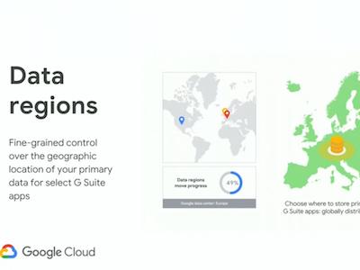 Google G Suite Data Regions
