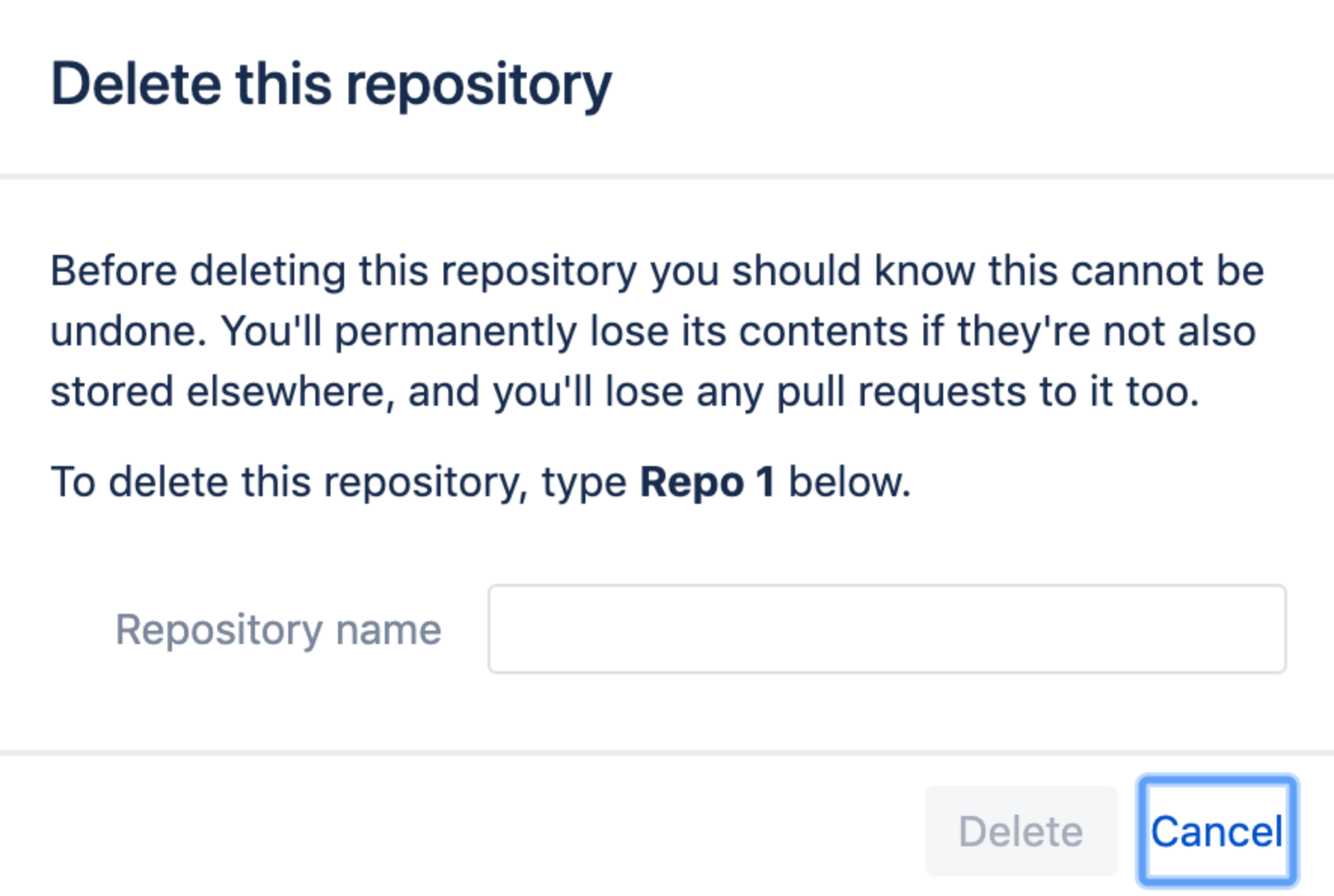 Bitbucket Delete-Check