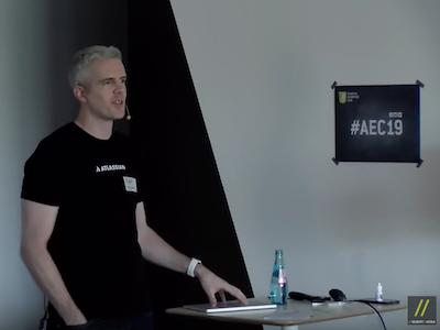 Atlassian Data Center - Vortrag von Patrick Richardson