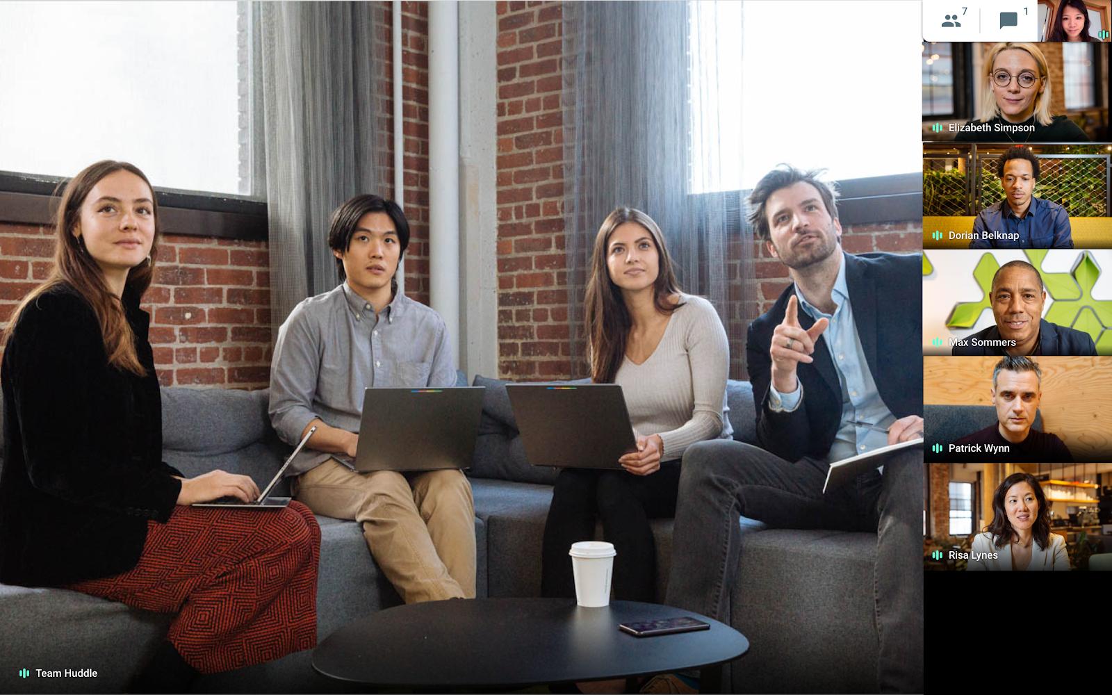 Google G Suite - Hangouts Meet