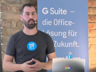 Digitale Transformation Google G Suite