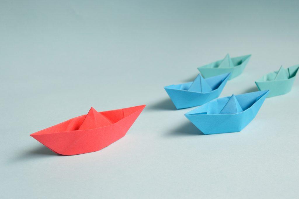 Führung durch Verstärkung der Eigeninitiative