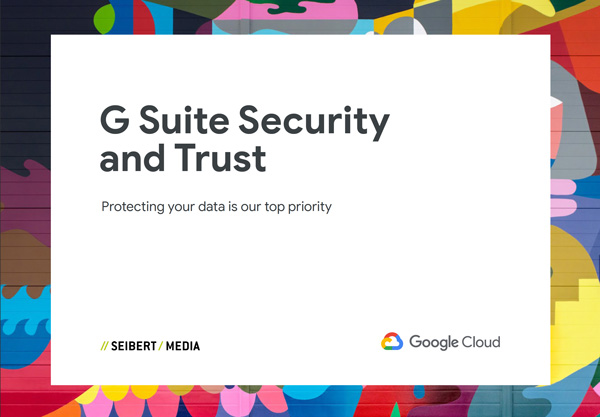 Preview G Suite Security Ebook zur Cloud-Sicherheit