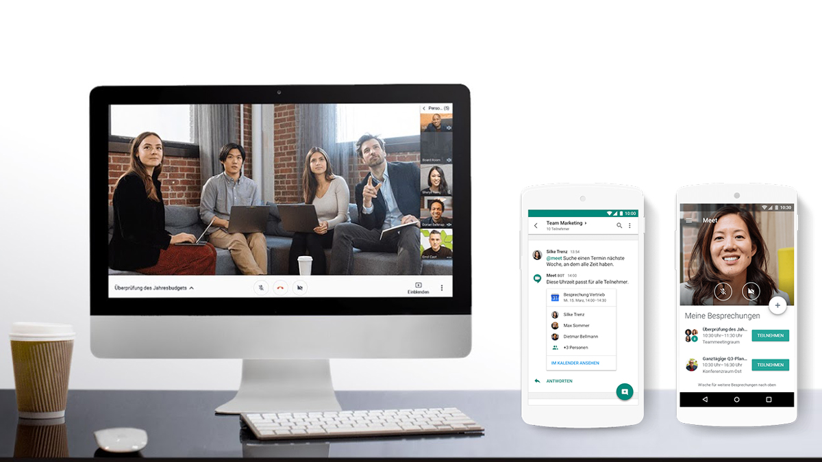 Google Hangouts Meet für Agenturen