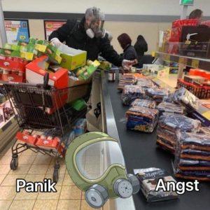 Panik und Angst sind das Problem